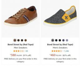 Red Tape Men's Casual Shoes at Minimum 80% OFF
