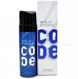 Wild Stone Code Titanium Body Spray - For Men  (120 ml)
