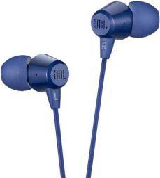 JBL C50HI in-Ear Headphones with Mic (Red)