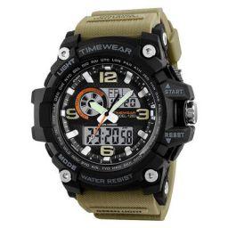 Timewear Military Series Analogue Digital Black Dial Watch