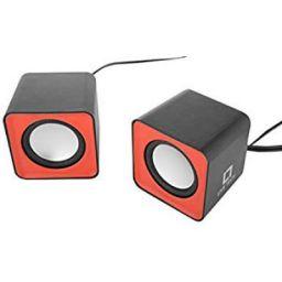 Live Tech SP 02 Laptop Speaker (Red & Black)