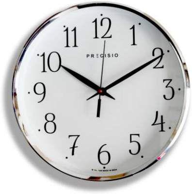 Precisio Analog 25 cm X 25 cm Wall Clock