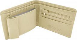 TnW Men Casual Beige Artificial Leather Wallet Beige