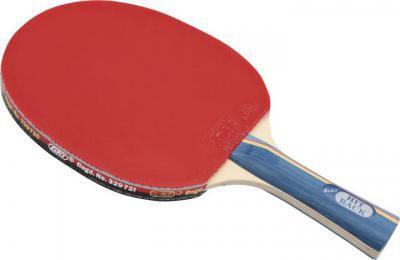 GKI HITBACK Table tennis Red, Black Table Tennis Paddle