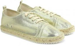 GOLD Color Catwalk Sneakers For Women