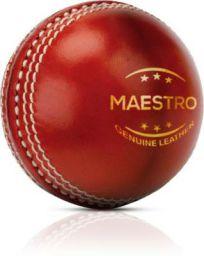 Adrenex by Flipkart Maestro 4 panel Red Cricket Leather ball
