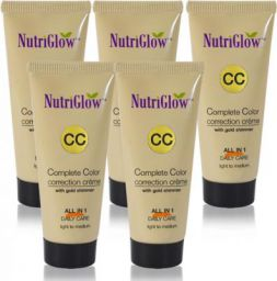 NutriGlow CC-Cream-50ml(Pack Of 5)