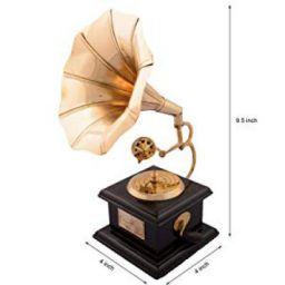 eCraftIndia Antique Music Decorative Canon Brass Showpiece
