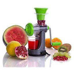Floraware Fruit & Vegetable Nano Manual Juicer (Green)