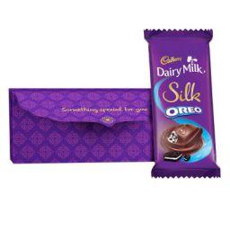 Cadbury Envelope with Silk Oreo Chocolate, 130g