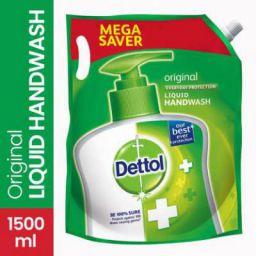 Dettol Refill Original Pouch  (1500 ml)