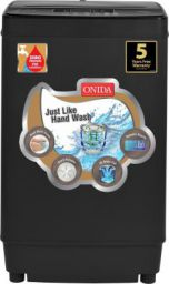 Onida 7.5 kg Fully Automatic Top Load Washing Machine Grey