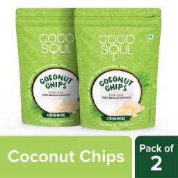 Coco Soul Coconut Chips, Original