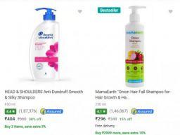 Hair Care & Shampoo at Min.40% Off