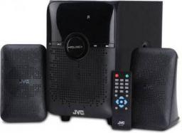 JVC XS-XN21 28 W Bluetooth Home Audio Speaker  (Black, 2.1 Channel)