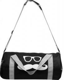 Rocket Sales Polyester Mustache (Mooch) Style Fitness Gym Bag