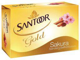 Santoor Gold Soap, 75g