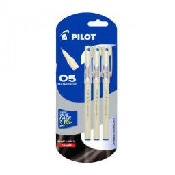 Pilot Hi-Techpoint 05 Super Value Pen - Pack of 3