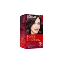 Streax TLC Soft Gel Hair Colour-Plum-95 ml