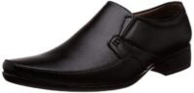 Auserio Men& Black Formal Shoes - 8 UK/India (42 EU)(SS- 140)
