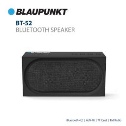 Blaupunkt BT-52-BK 10W Portable Outdoor Bluetooth Speaker