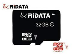 RiDATA 32GB Class 10 Ultra MicroSDHC Memory Card