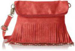 Alessia74 Womens Sling Bag (Orange) (PBG245A)