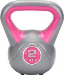FITSY 2 Kg Cast Iron Pink Kettlebell  (2 kg)