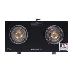 Wonderchef Power 2 Burner Glass Cooktop