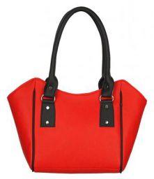 Fantosy women handbag (FNB-636) Red and Black