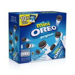 Oreo Mini Original Sandwich Biscuit 10 Mini Bag ( 10 X 23g ) Box, 230g