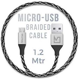 iVoltaa Pixie Micro USB to USB 2.0 Braided Cable