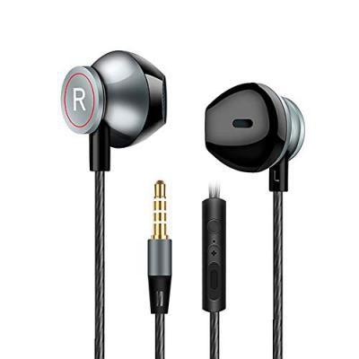 Denler Bass Max JIES X500 in-Ear Headphones with Mic (Black)