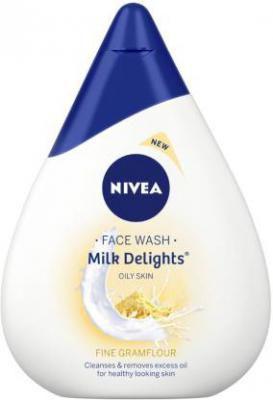 Nivea Milk Delights Fine Gramflour Face Wash  (100 ml)