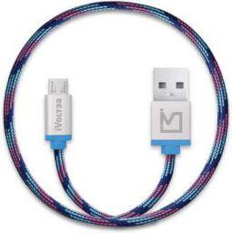 iVoltaa Pixie Braided 2.4A Micro USB Cable