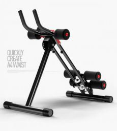 Abs Trainer Abdominal Waist Power Cruncher with LED Counter Home Gym and Fitness Kit, Multipurpose Equipment