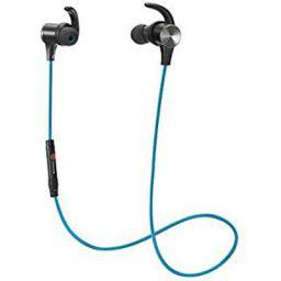 TaoTronics BH07 Sweatproof Bluetooth in-Ear Headphones with Mic - Blue