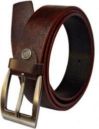 Fashius Men Brown Artificial Leather Belt Brown