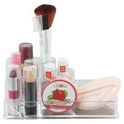 Miamour Plastic Make-Up Organizer, White (MMUOT001002)