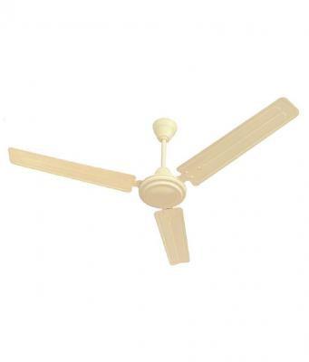 Eveready Fab M 1200mm High Speed 3 Blades Ceiling Fan (Cream)
