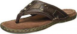 Action Shoes Men's Leather Hawaii Thong Sandals at Min.70% Off