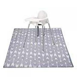 Oversized Splat Mat, Womdee High Chair Splat Mat