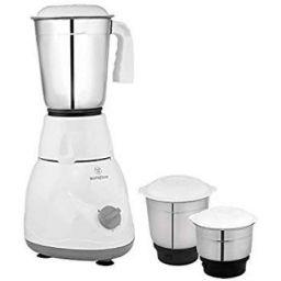 Westinghouse M50W3A-DJ 500 W Mixer Grinder with 3 Jars (White)