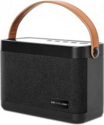 SoundLogic BLOQ Portable Stereo Speaker 12 W Bluetooth Speaker  (Black, Stereo Channel)