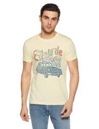Jack & Jones Men's Casual T-Shirt at Min.78% Off