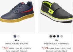 Fila Men's Sports Shoes Min.74% Off