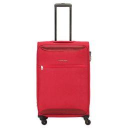 Kamiliant by American Tourister Zaka Polyester 67 cms Maroon Softsided Check-in Luggage (KAM ZAKA SP 67 cm - Maroon)