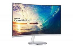 Samsung 27 inch Curved Bezel Less LED Backlit Computer Monitor