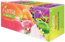 Fiama Celebration Pack (Combo Pack 4 + 1 Free, 125 g)