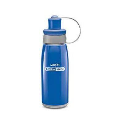 Milton Bravo 400 Stainless Steel Sports Water Bottle, 400ml/72mm